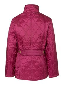 Girl`s Equestrian Gracie quilted jacket