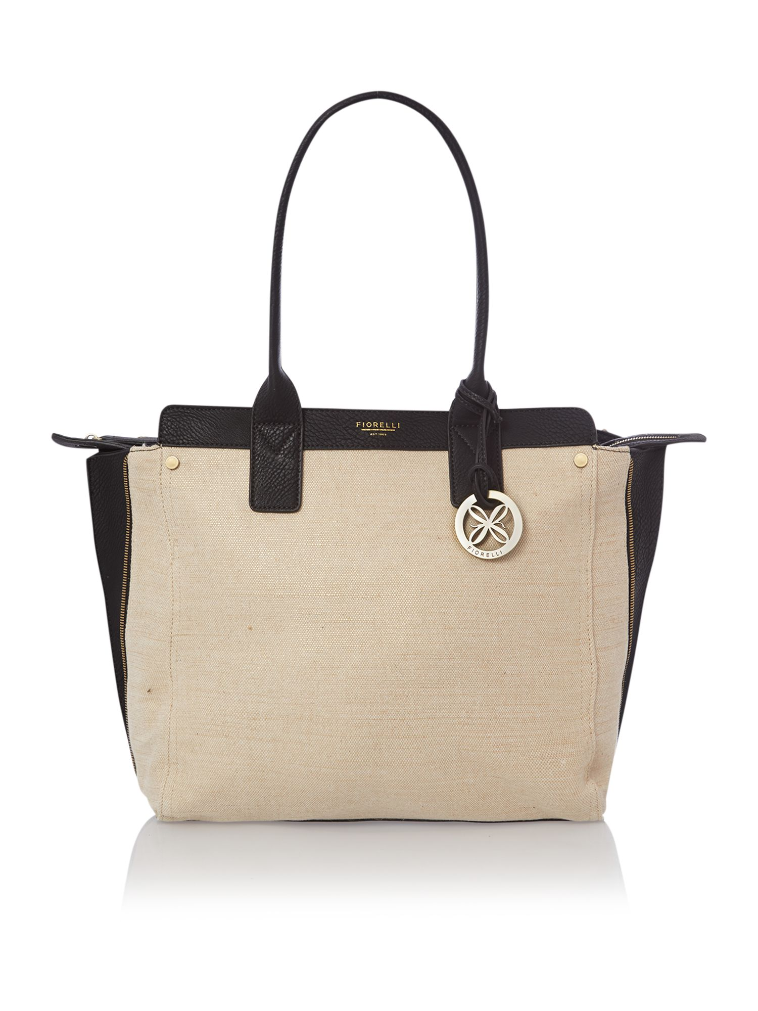 Agyness neutral tote bag