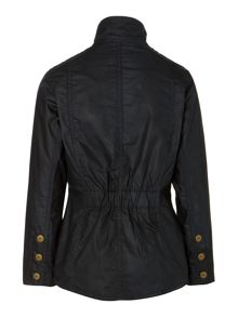 Girl`s Summer Ferndown waxed jacket