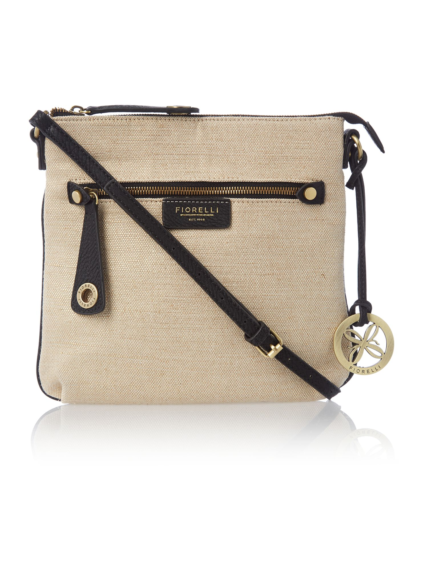 Ted neutral cross body bag