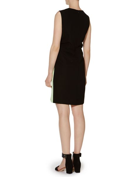 Pied a Terre Tuck Detail Shift Dress