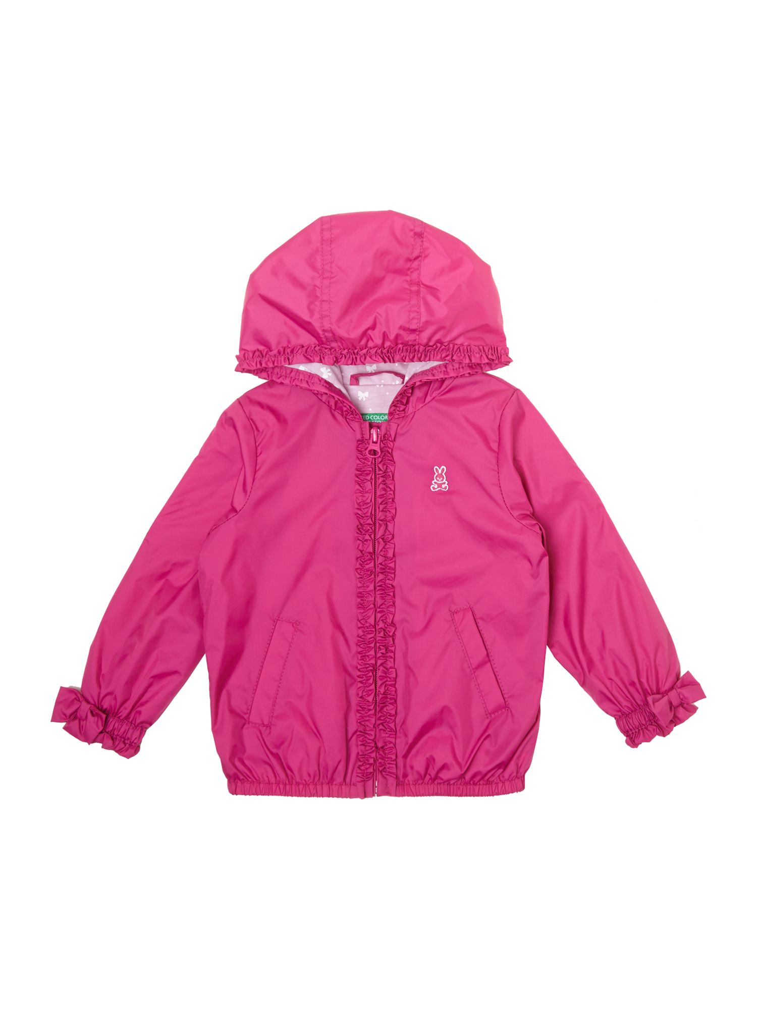 Girl`s hooded jacket