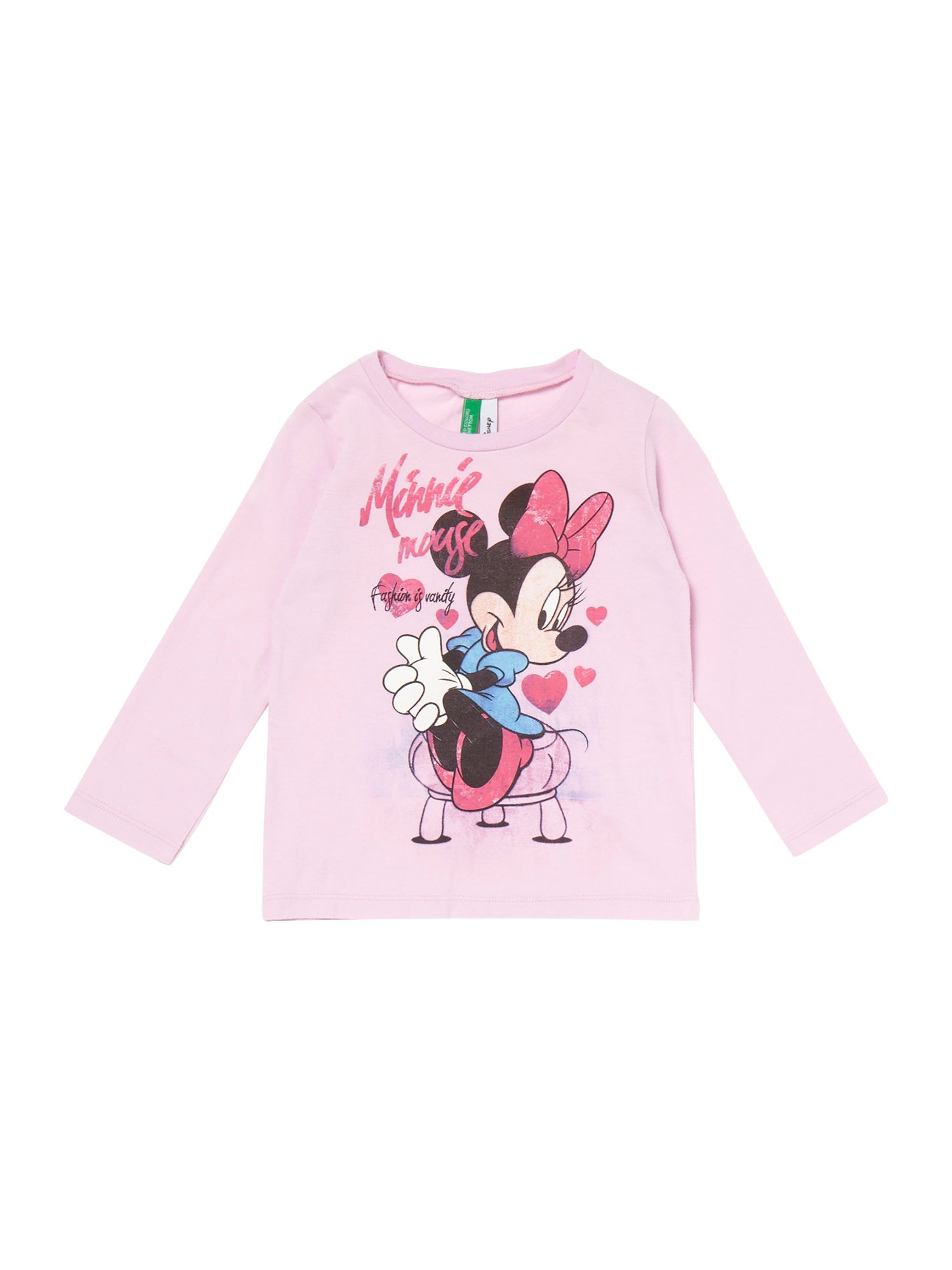 Girl`s Minnie Mouse print t-shirt