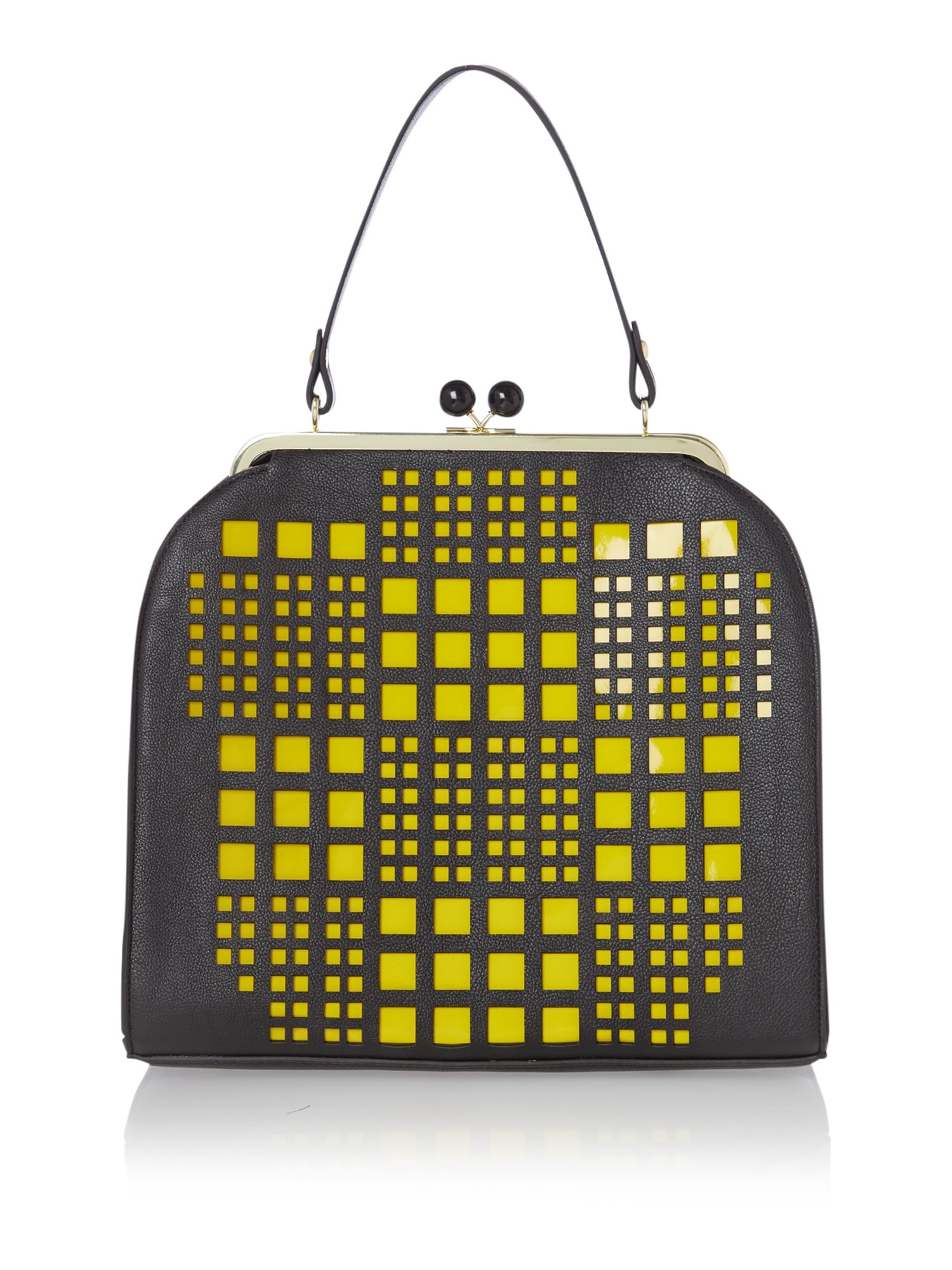 Hana perforated frame bag