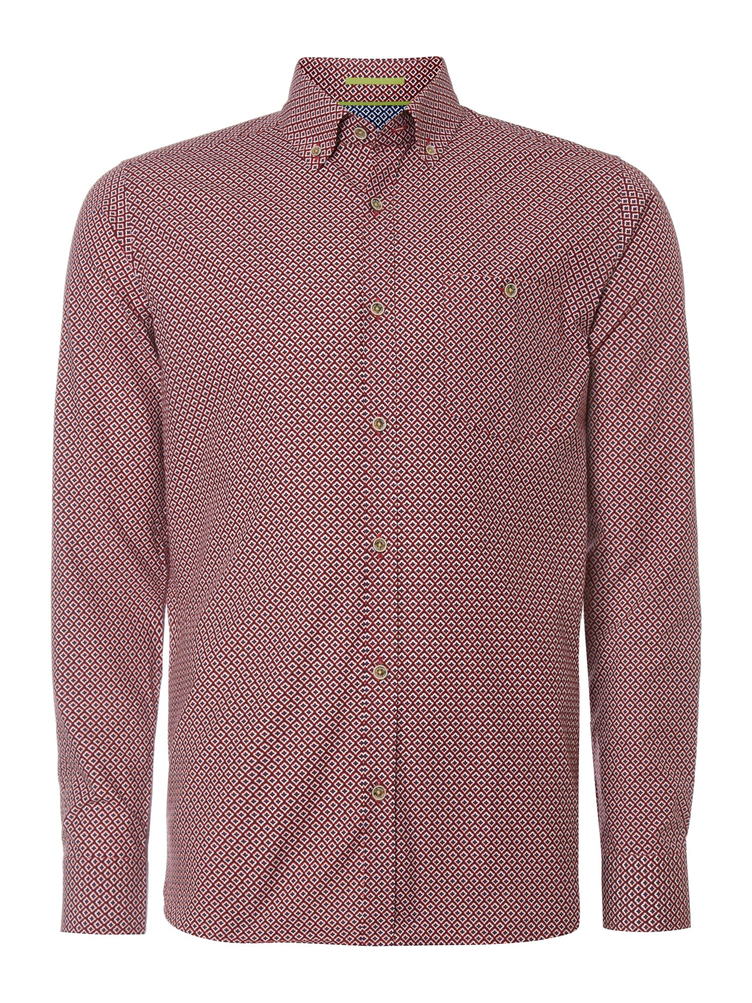 Jenson grois grain collar polo