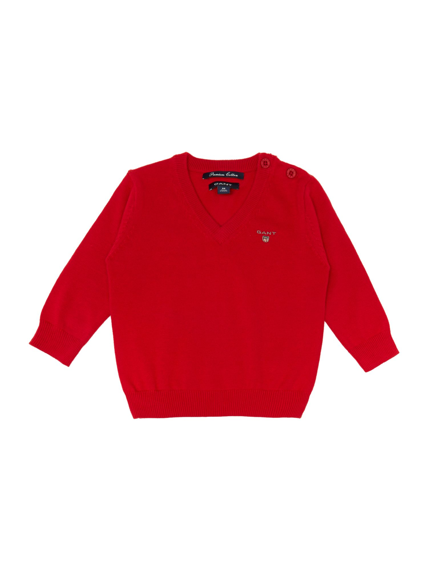 Boys V-neck jumper