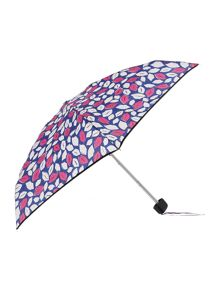 Pop art lips tiny umbrella