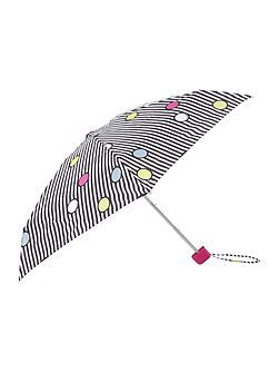 Spot on stripe tiny umbrella