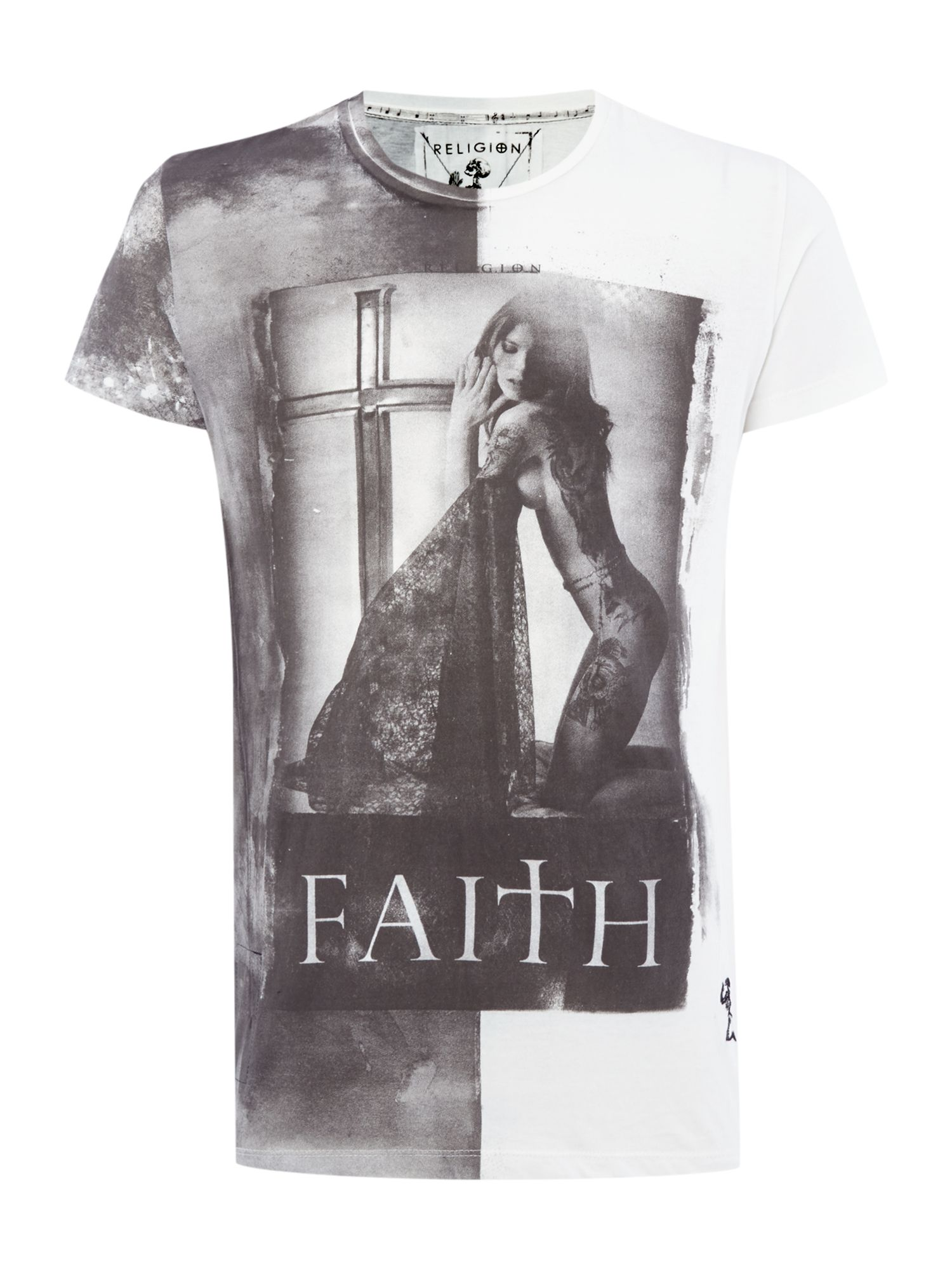 Faith printed t shirt