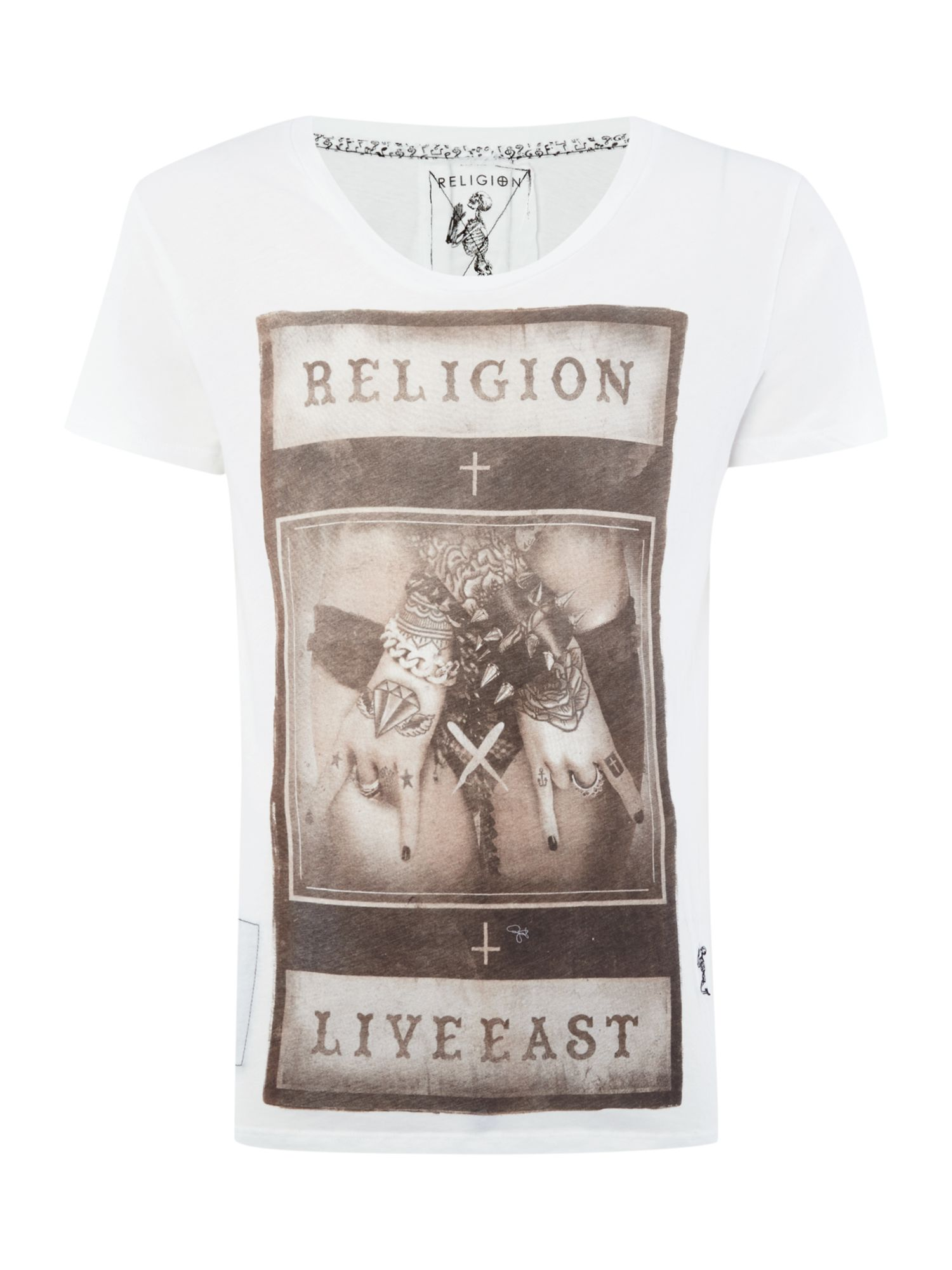 Rock printed t shirt