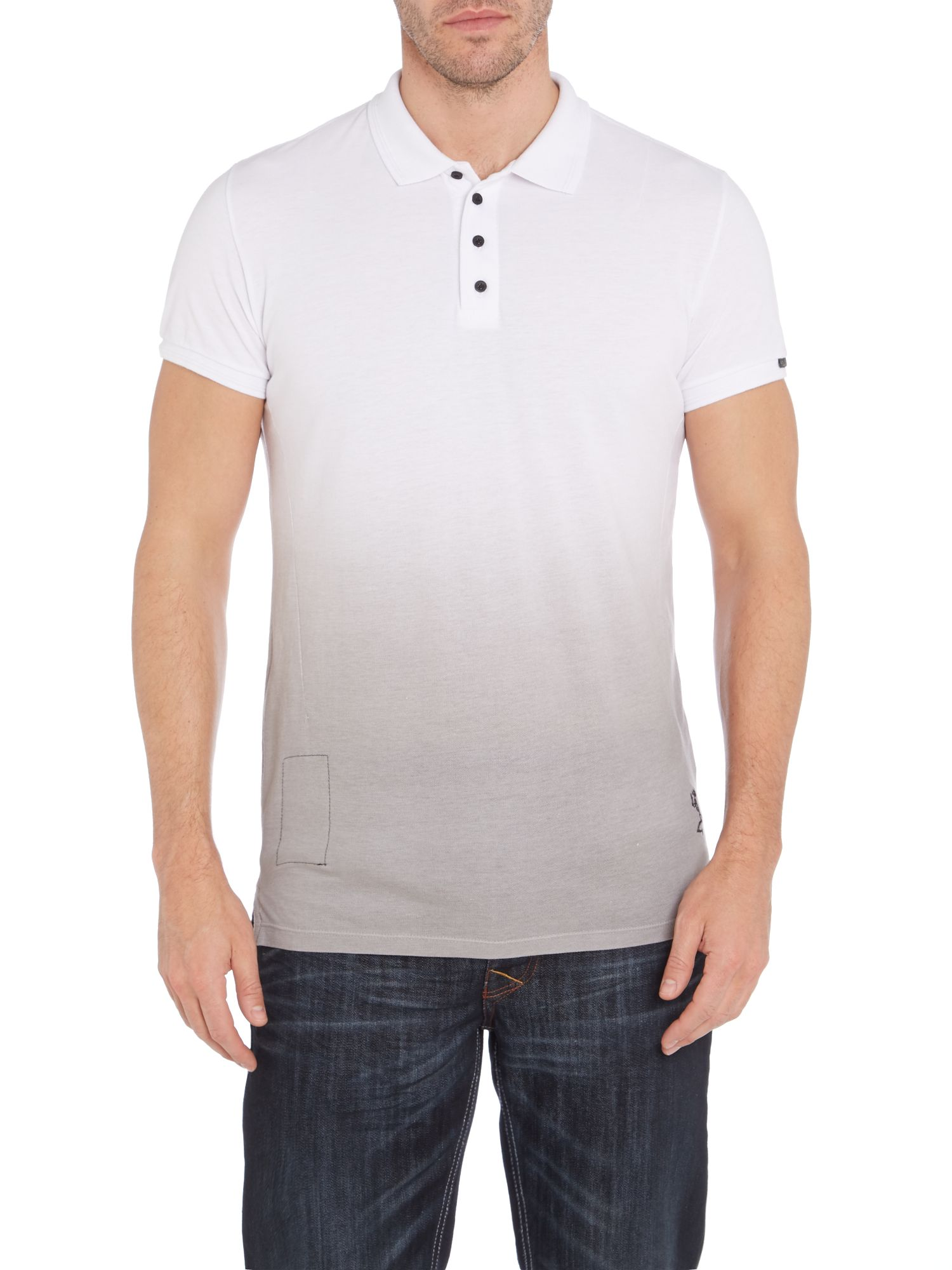 Ombre polo shirt