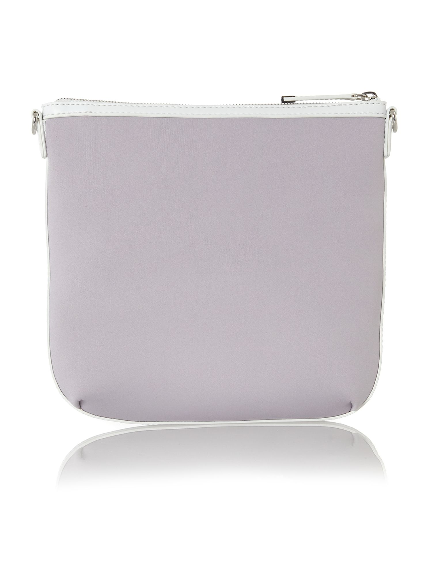Neoprene multi-coloured crossbody bag