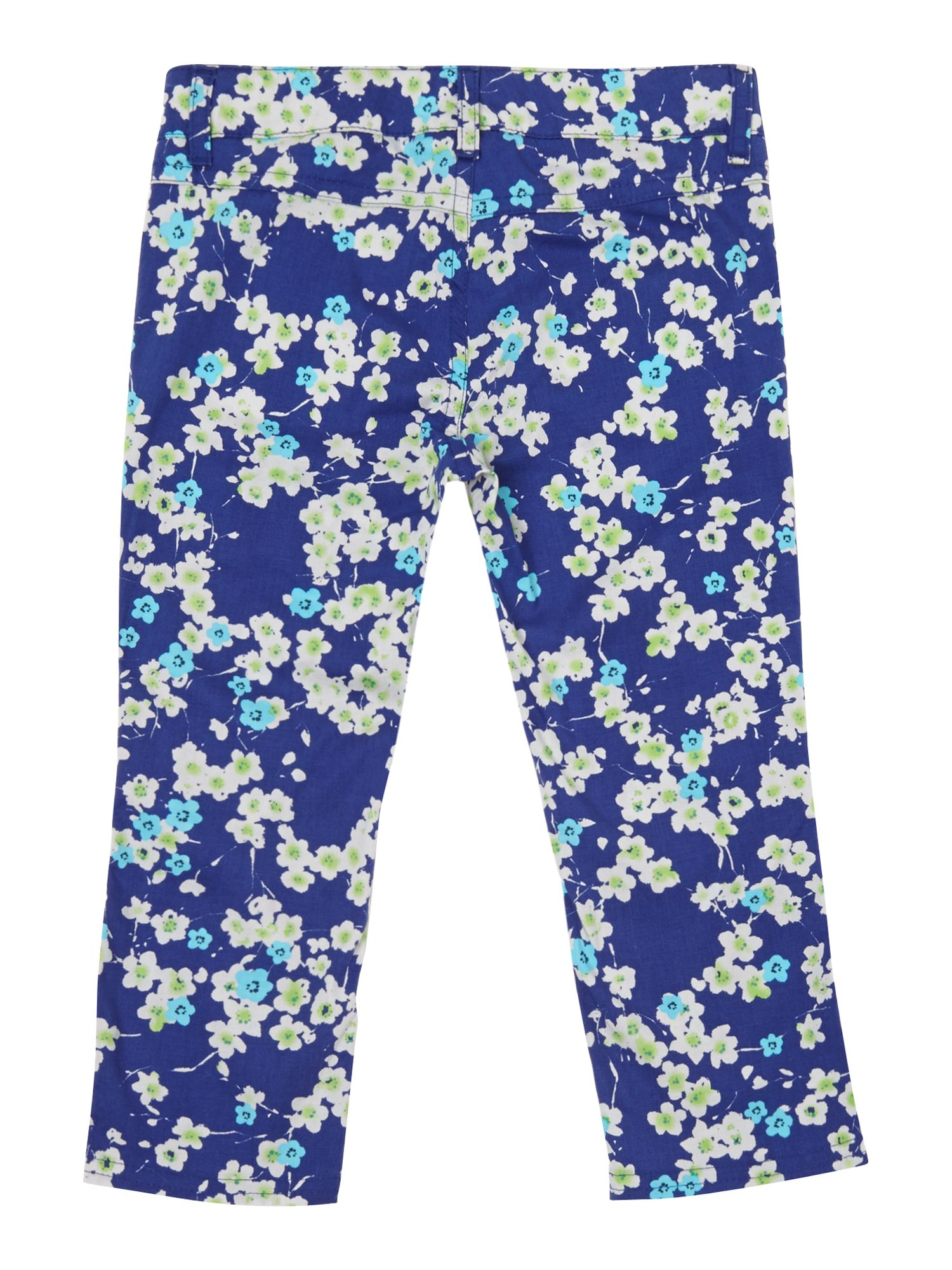 Girl`s floral trouser