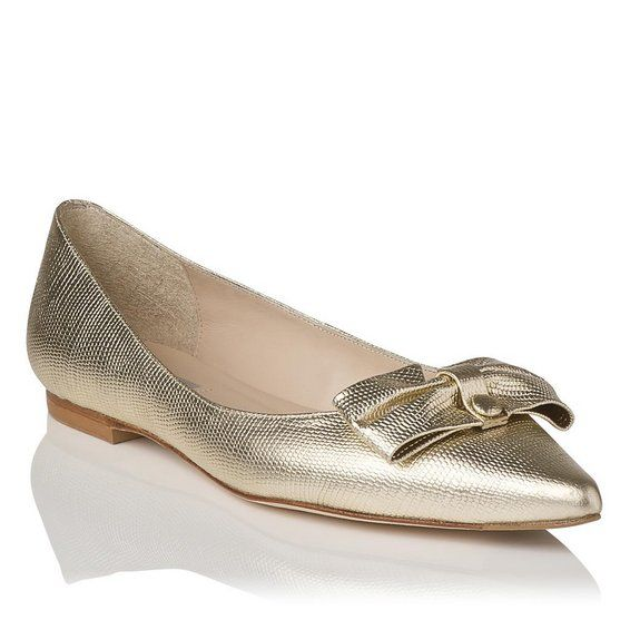 Irani pointy toe flat shoes