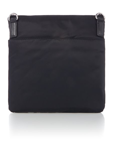 DKNY Black logo crossbody bag