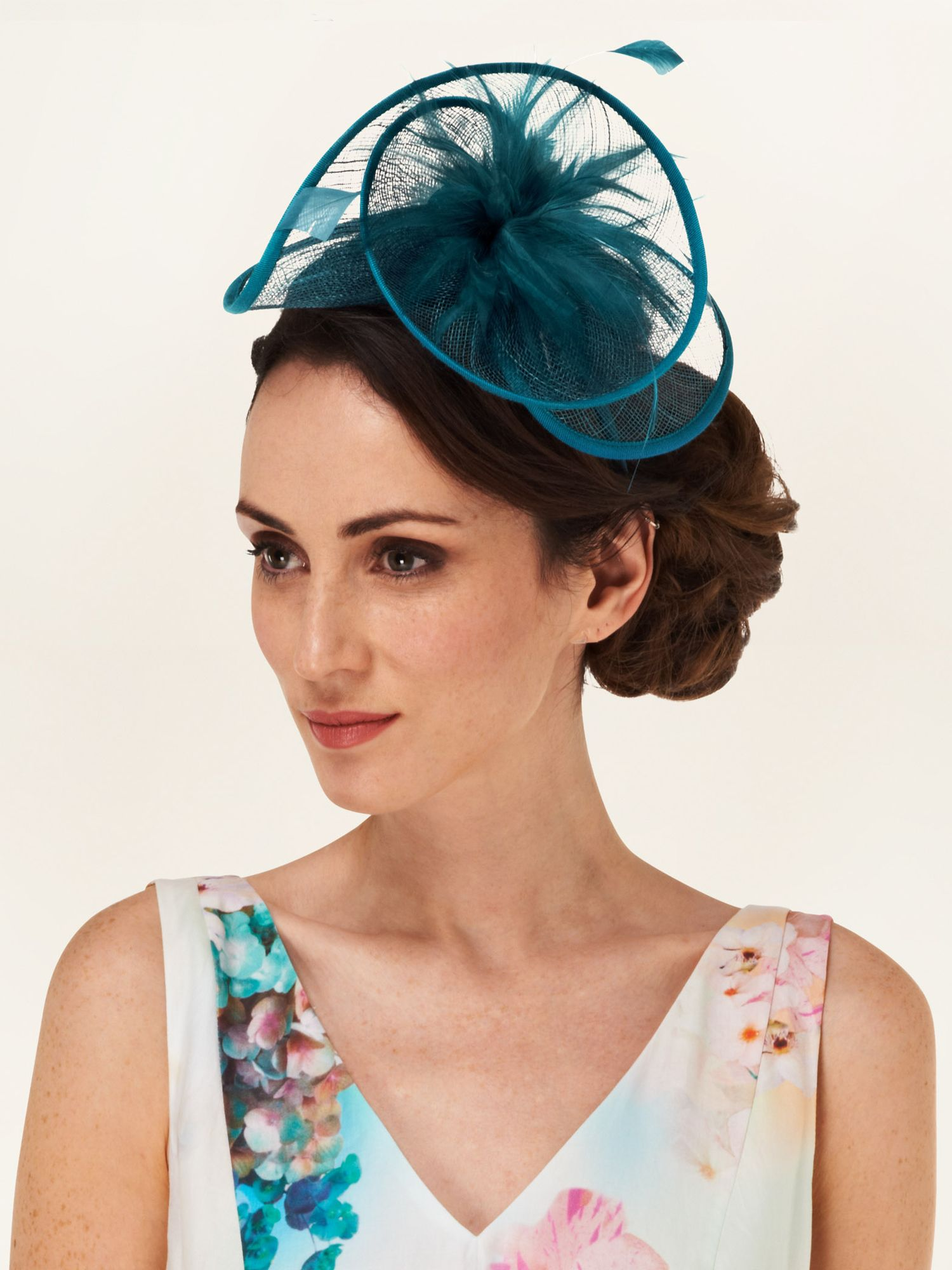 Emma swirl fascinator