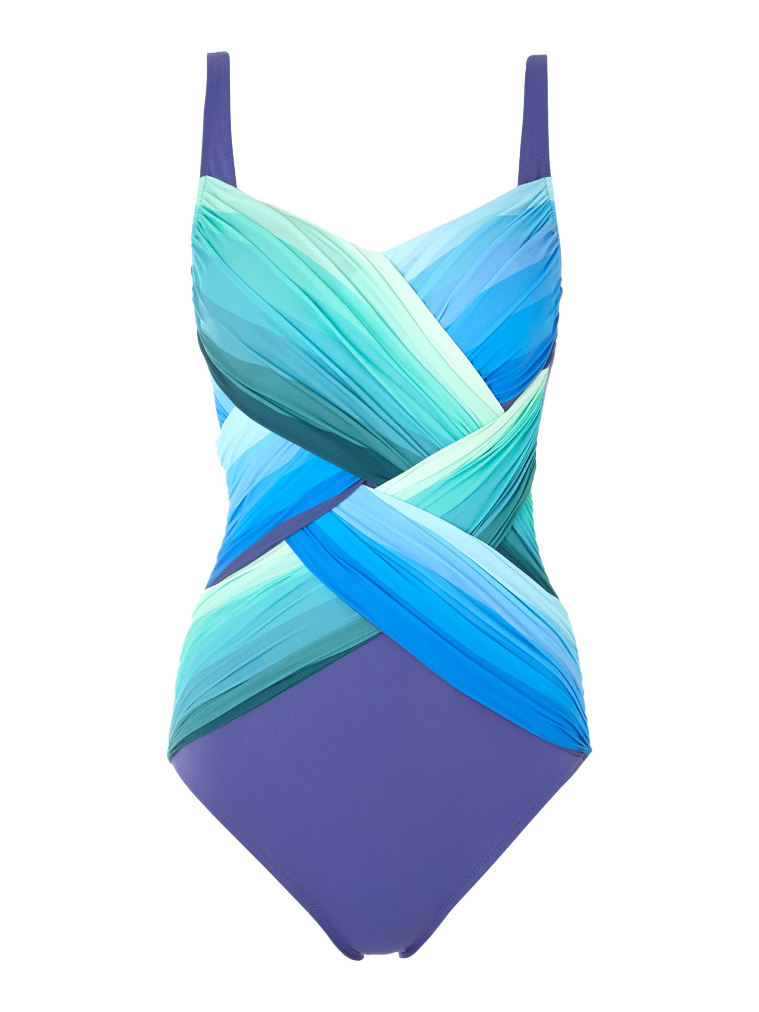Chrystalis square neck swimsuit