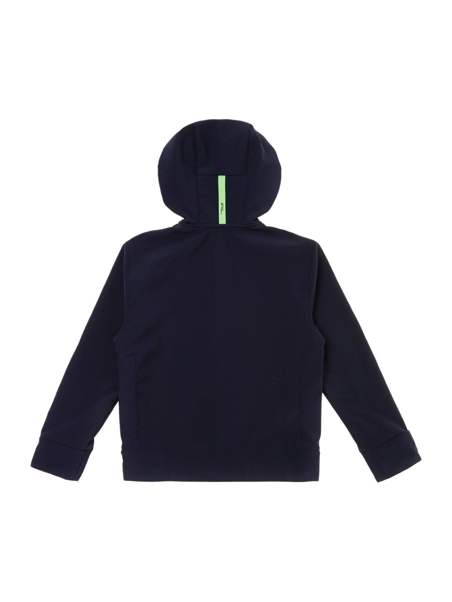 Boys zip through sport hoody