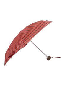 Fulton Orla Kiely small bicolour stem tiny umbrella
