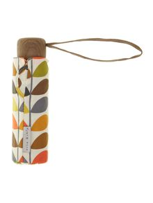 Fulton Orla Kiely stem microslim umbrella in gift box