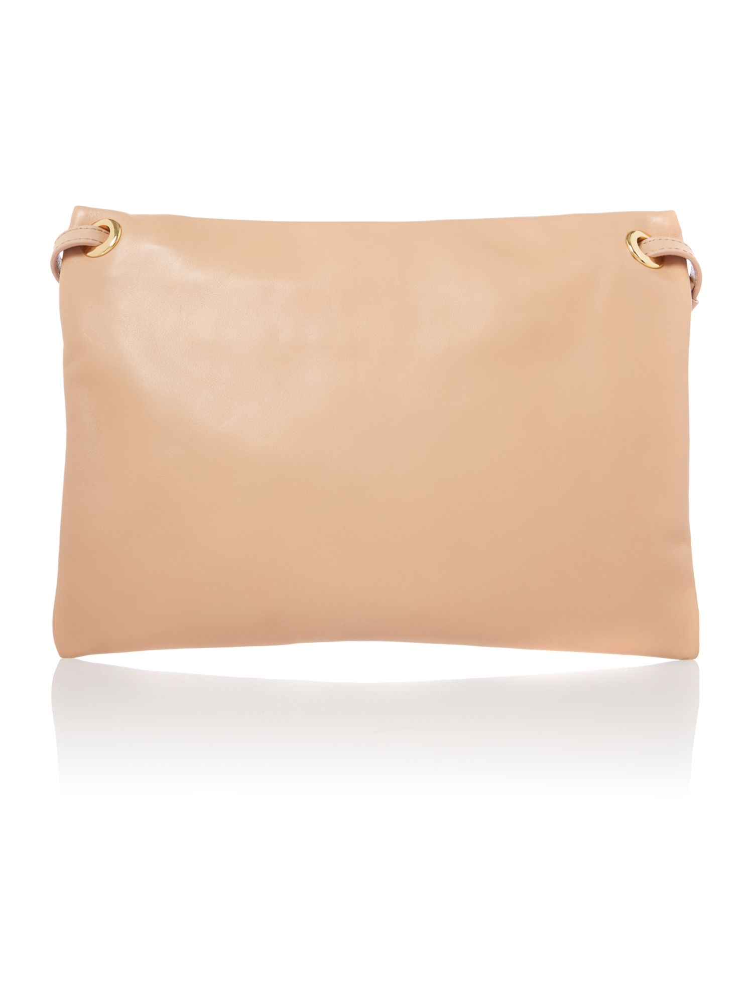 Swirl Highlight pink mini cross body bag