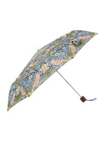 William Morris strawberry thief minilite umbrella
