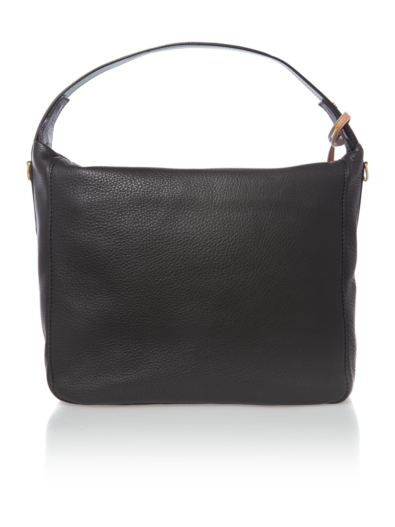 Albermarle black medium hobo bag