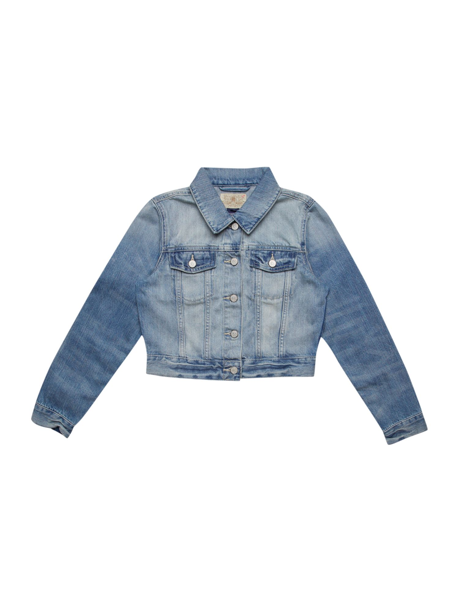 Girls trucker jacket