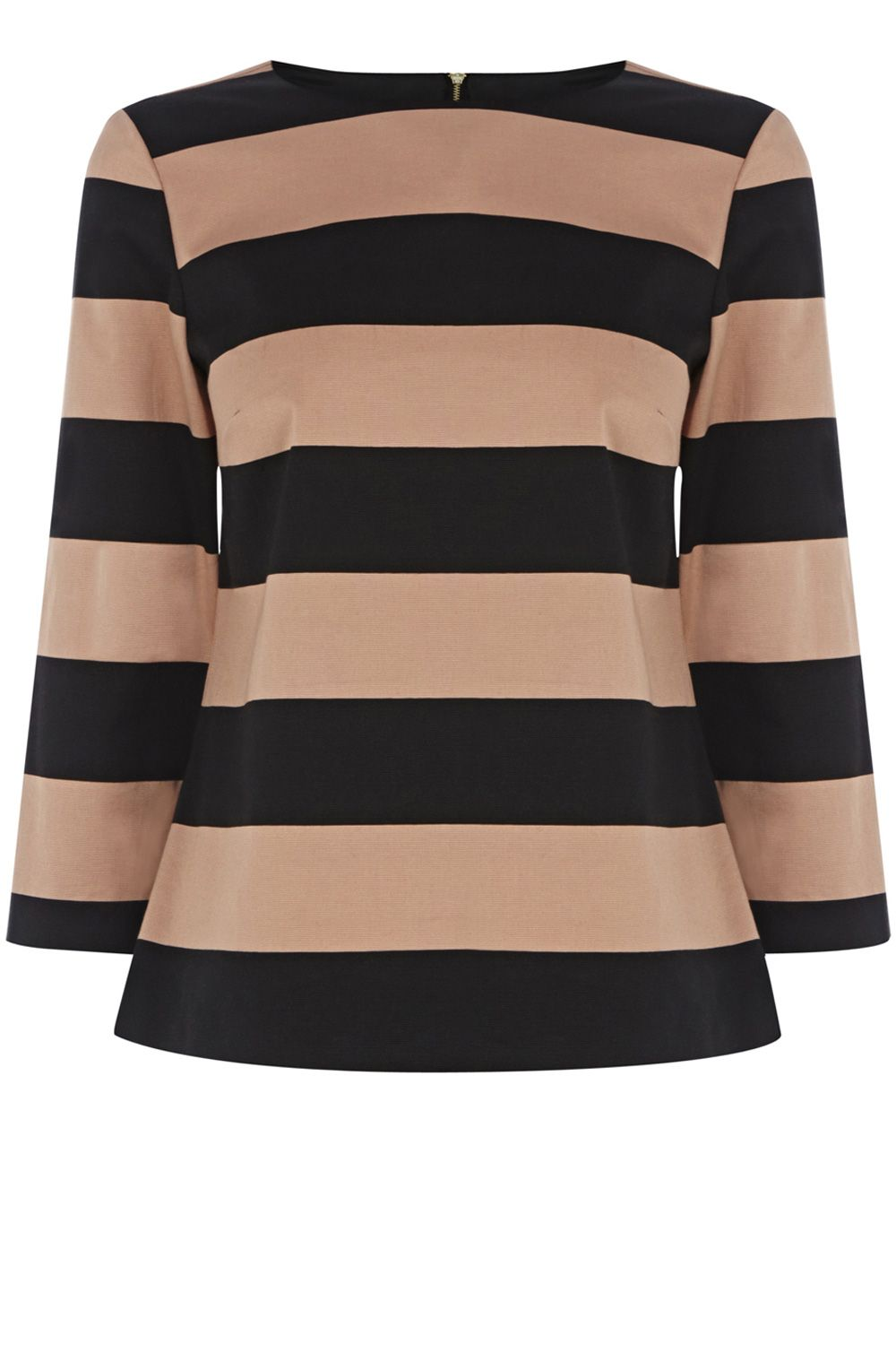 Blocked stripe top