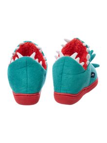 Boy`s slippersaurus slippers