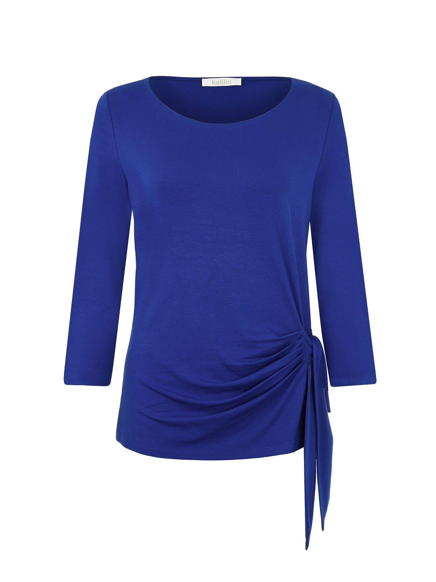 Cobalt Side Tie Top