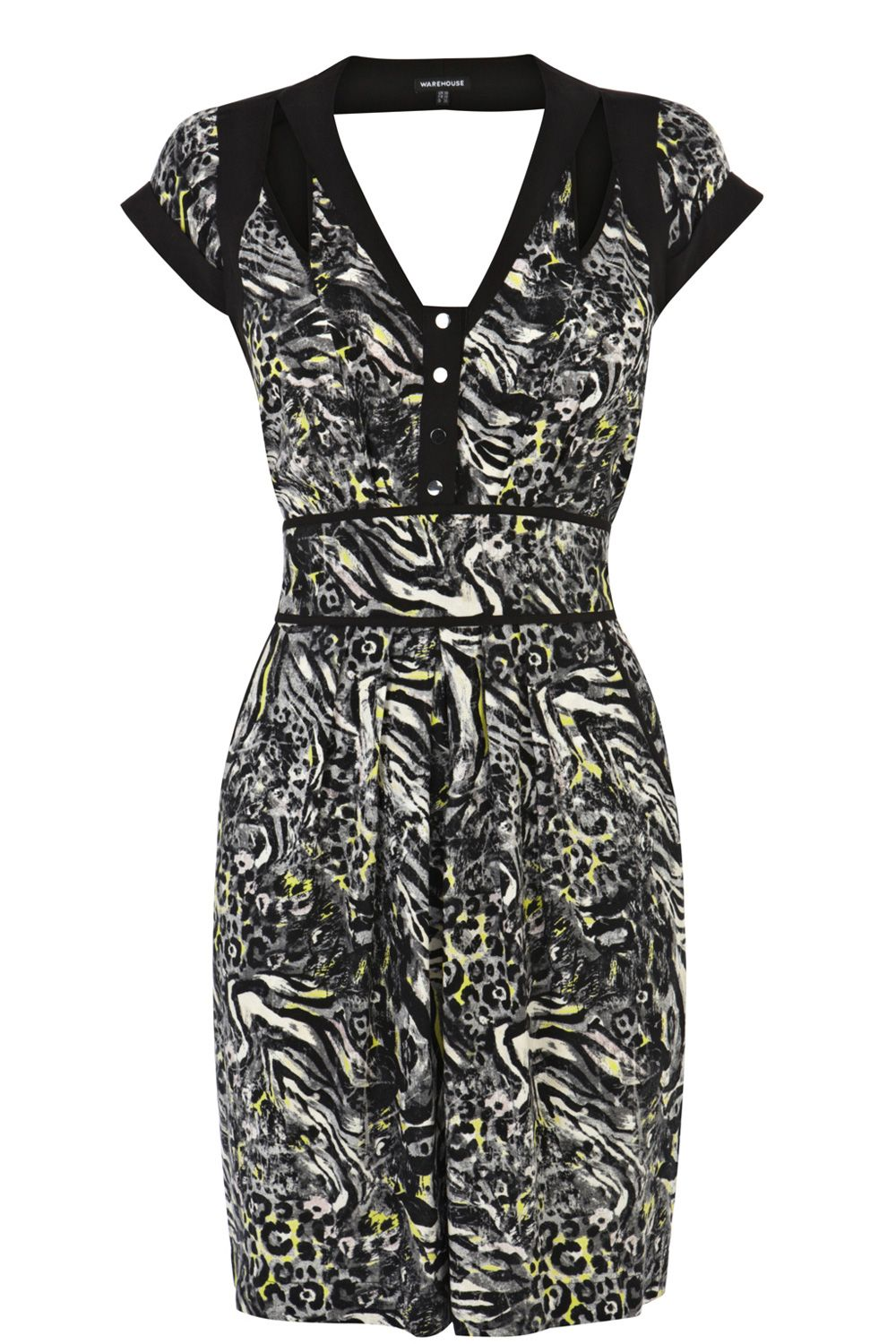 Animal cut out dress