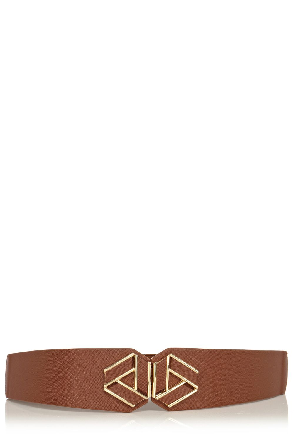 Cross hatch vintage waist belt