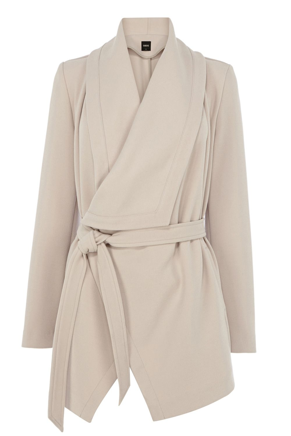Short drape coat