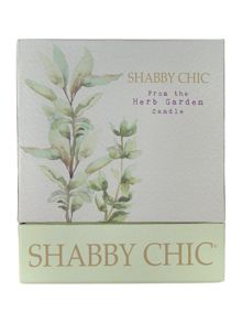 Shabby Chic From the herb garden candle