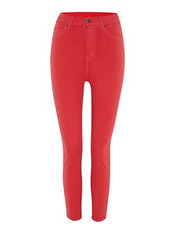 Cropa cabana cropped skinny jeans in Raspberry