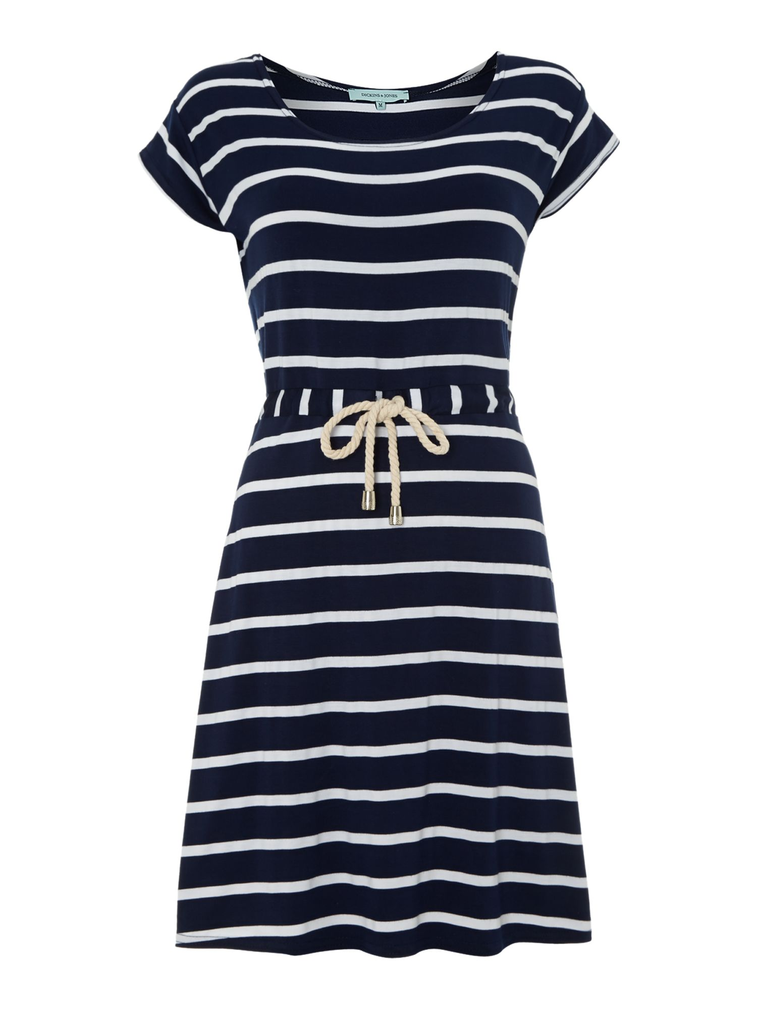 Stripe tennis beach dress