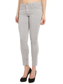 AG Jeans The Reagan skinny moto jeans in Sulfan Stingray
