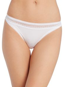 Calvin Klein Perfectly Fit Sexy Signature Thong with lace