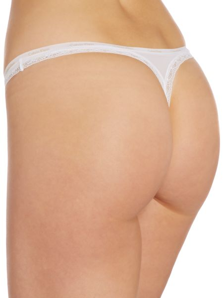 Calvin Klein Bottoms up Thong