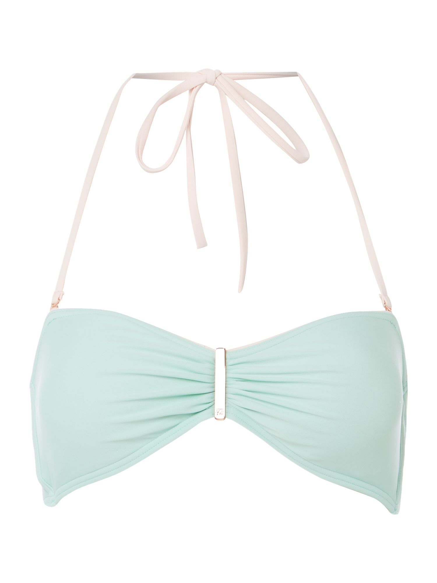 Plain bar bikini top