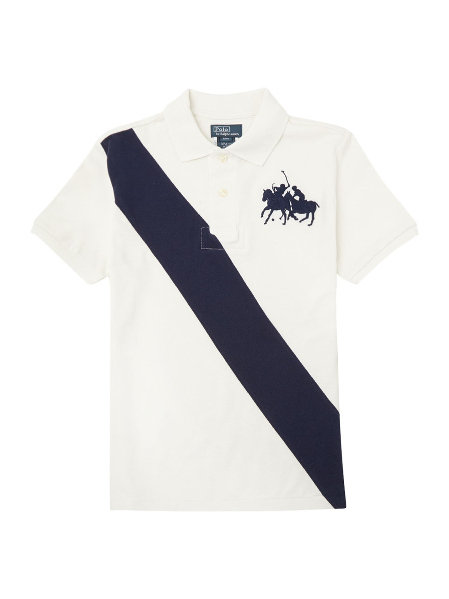 Boy`s dual match polo shirt