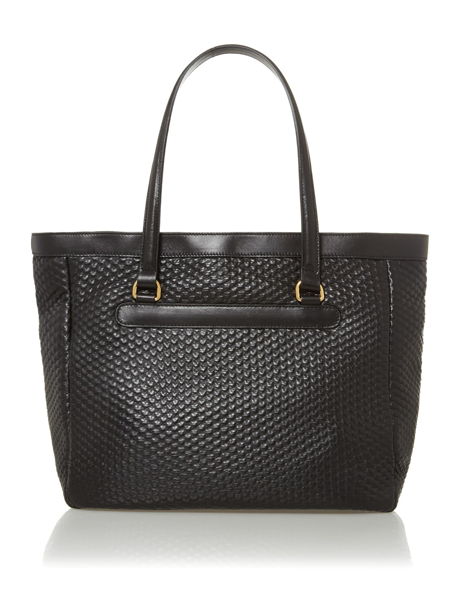 Dita black tote bag