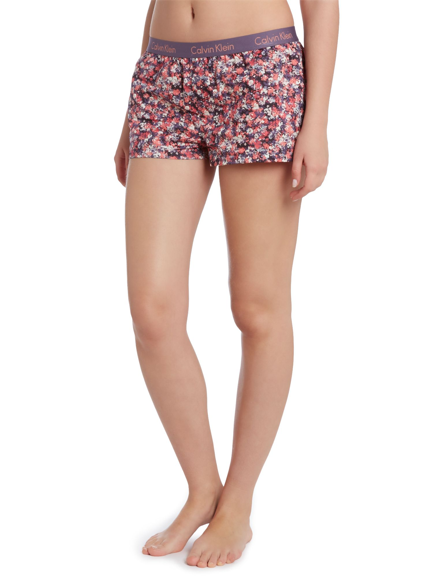 Wovens pretty small flowers pj boxer short