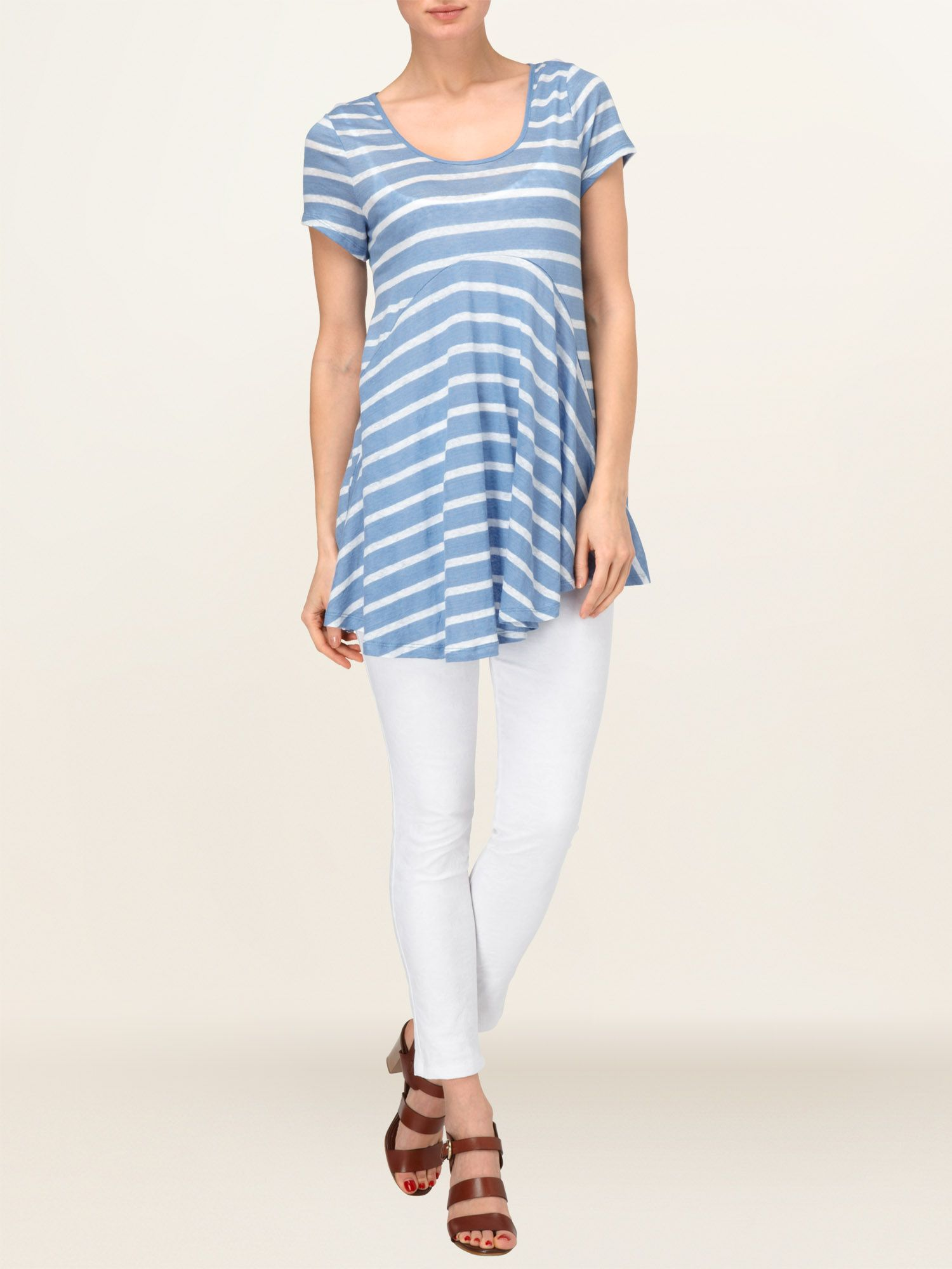 Harietta stripe top