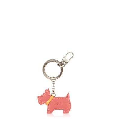 Go Walkies pink keyring