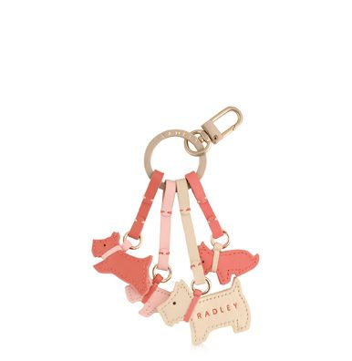 Darlington multi coloured keyring