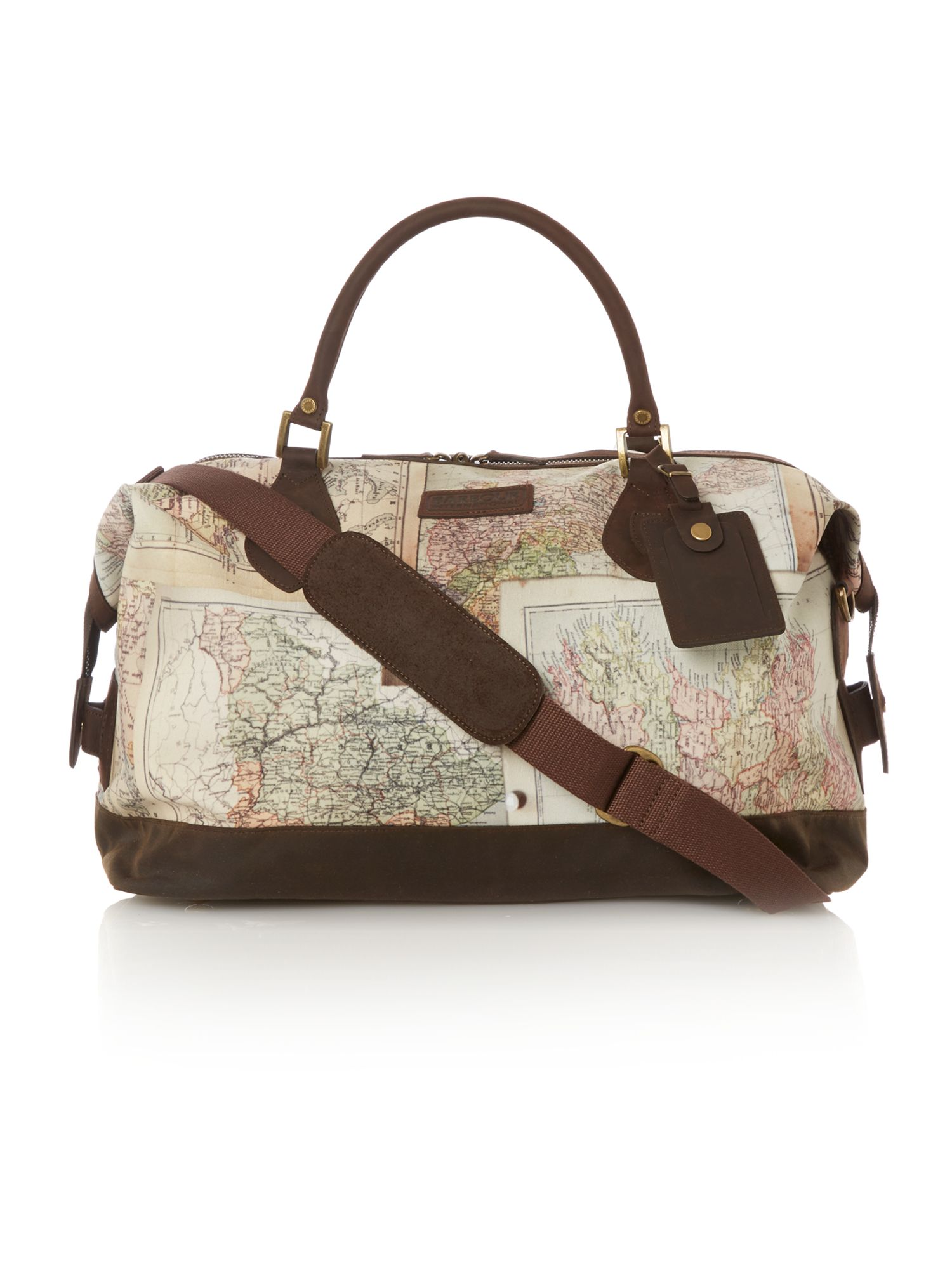 Atlanta map canvas explorer bag