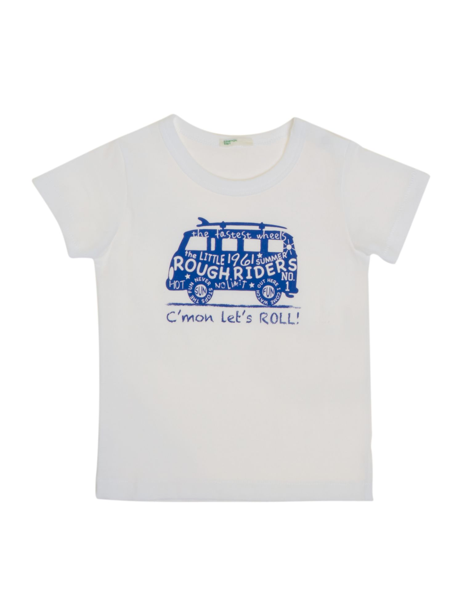 Boys bus print t-shirt