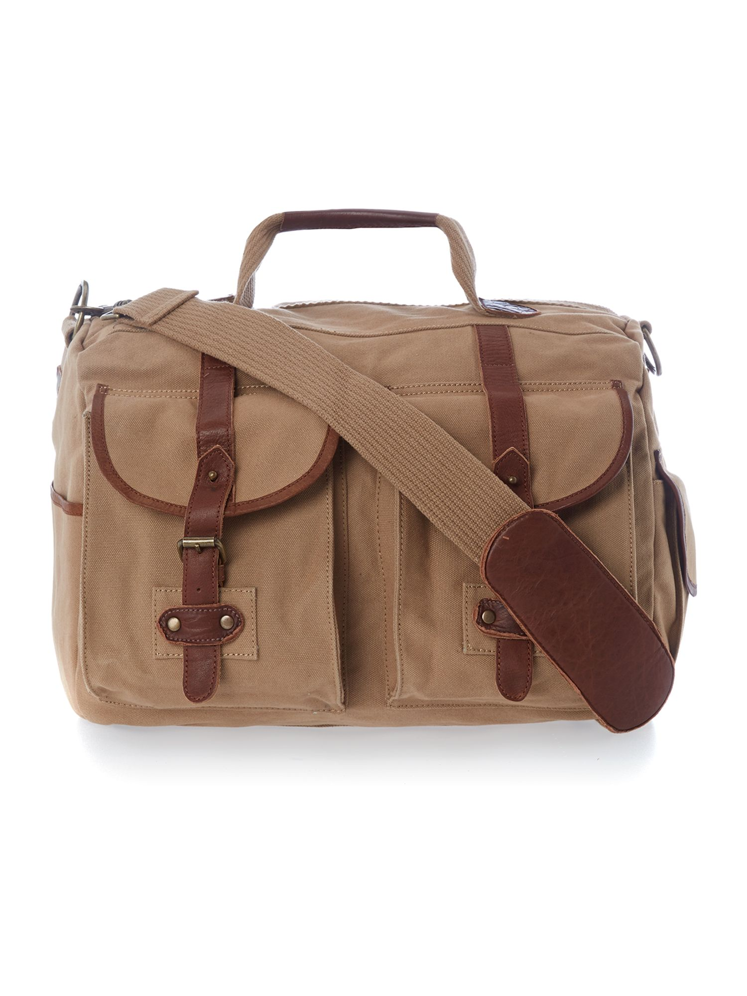 Arcadia canvas holdall bag